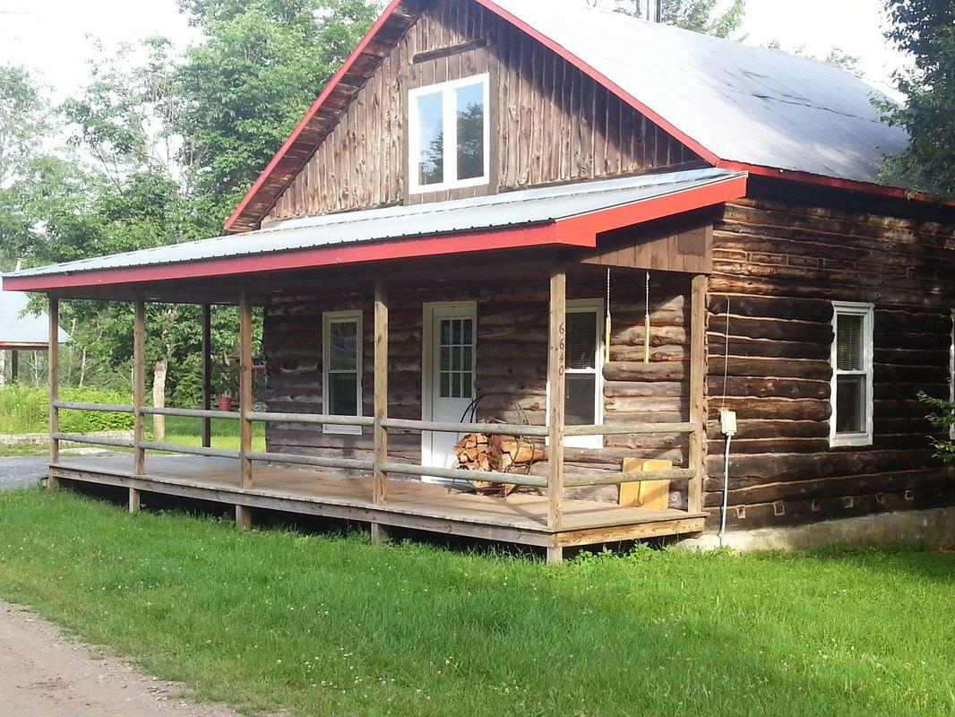 Rustic Log Cabin Rental In Adirondack Park Near Lake Ontario Log Cabin Rentals Rustic Log Cabin Cabin Rentals