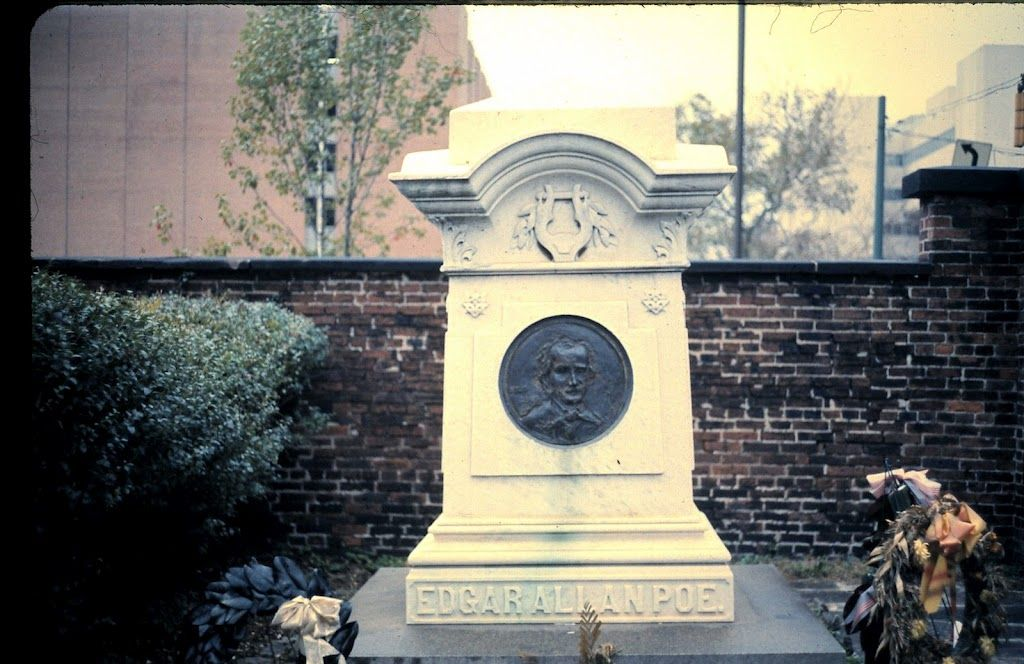 Tomb Of Edgar Allen Poe With Images Ferry Building San