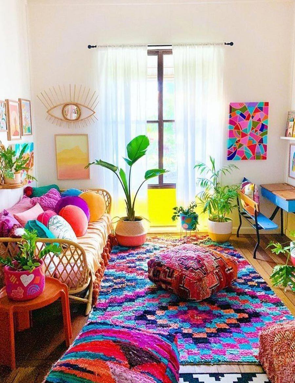 Festive Decor Inspirations For Lasting Impression Colourful Living Room Decor Stylish Home Decor Colourful Living Room Colorful living room pics