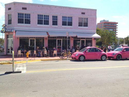Pink Restaurant Miami Beach