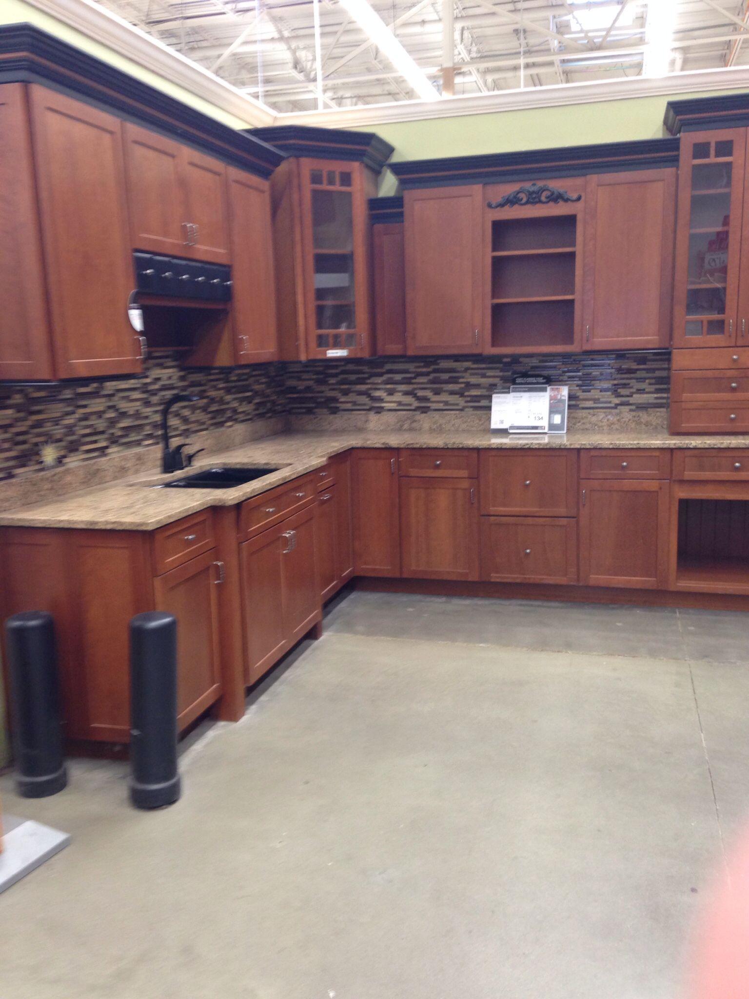 perfect kitchen cabinets at home depot kitchens pinterest. Black Bedroom Furniture Sets. Home Design Ideas
