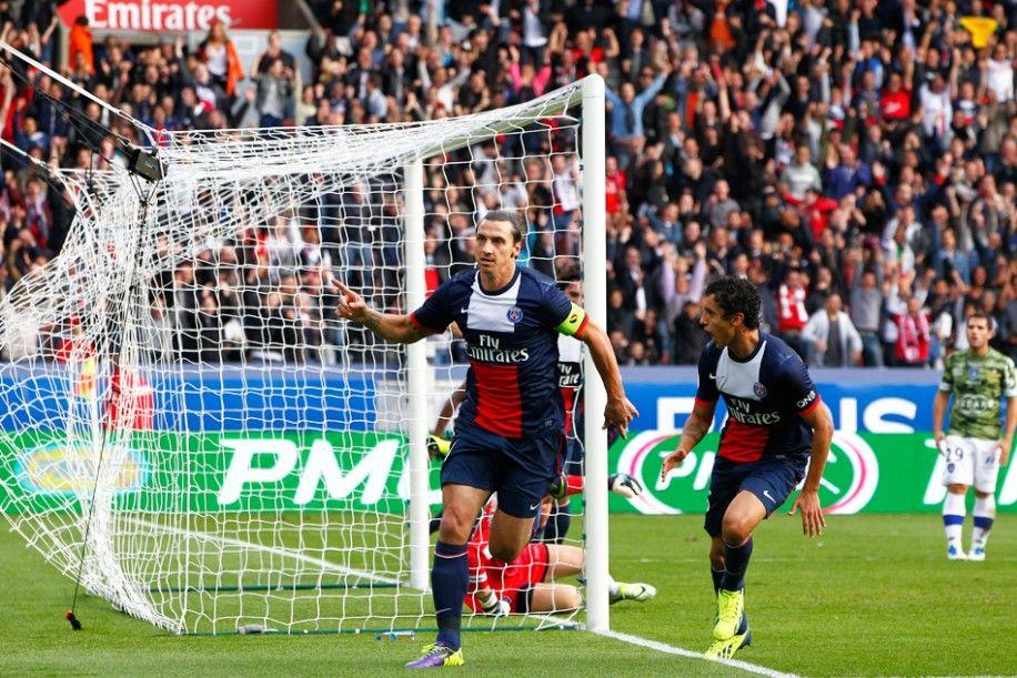 PARIS BASTIA 40 Zlatan Ibrahimovic inscrit le