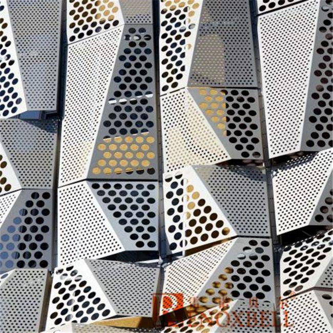 Foto De Panel De Aluminio Perforado Para Revestimiento De