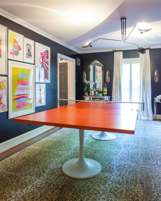 Key Interiors By Shinay English Country Dining Room: One Room Challenge Spring 2015: THE PING PONG EMPORIUM