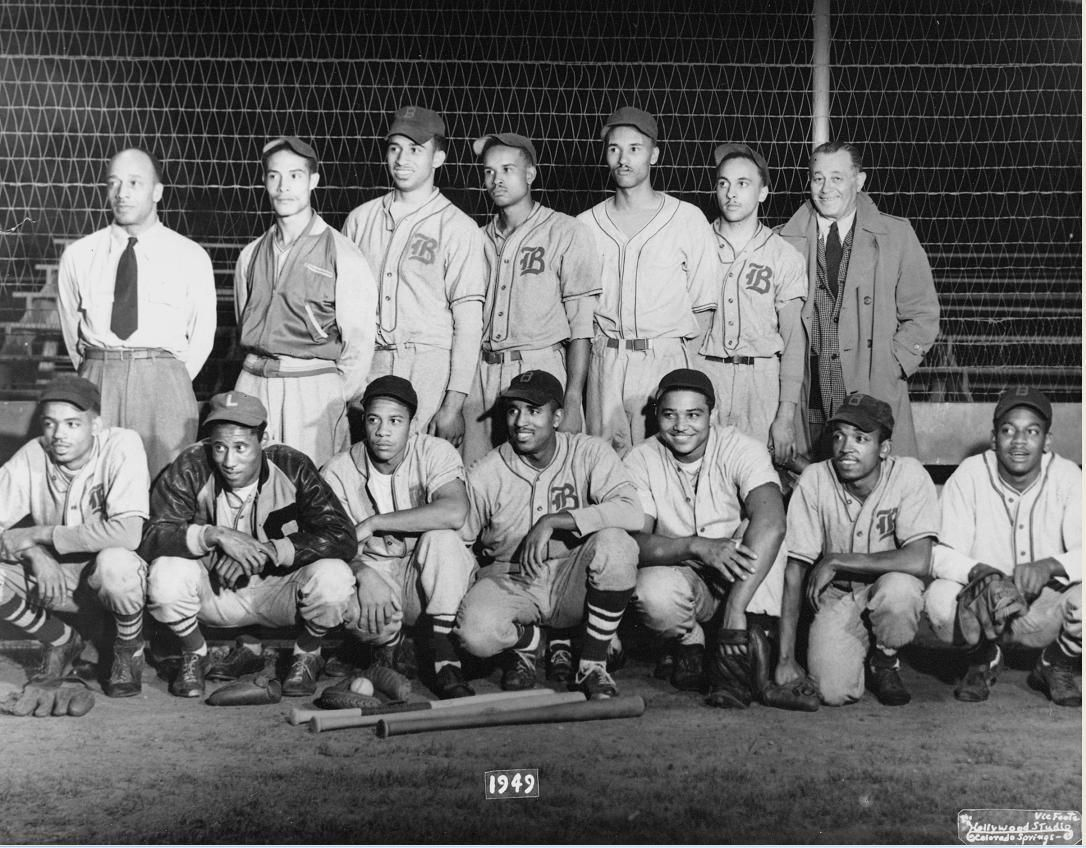 The Brown Bombers Team That Won The Colorado Springs City League Baseball Championships In 1949 Back Row Black And White City African American Men Spring City
