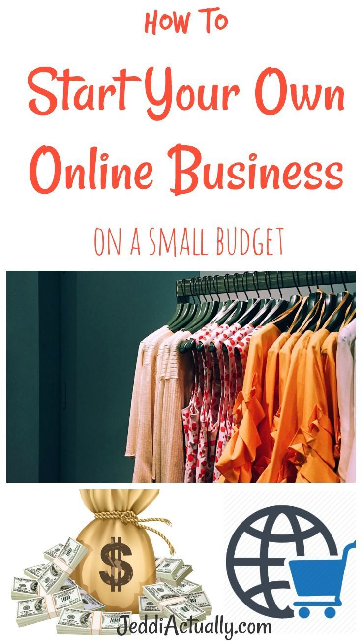 How to Start an Online Clothing Line On A Budget