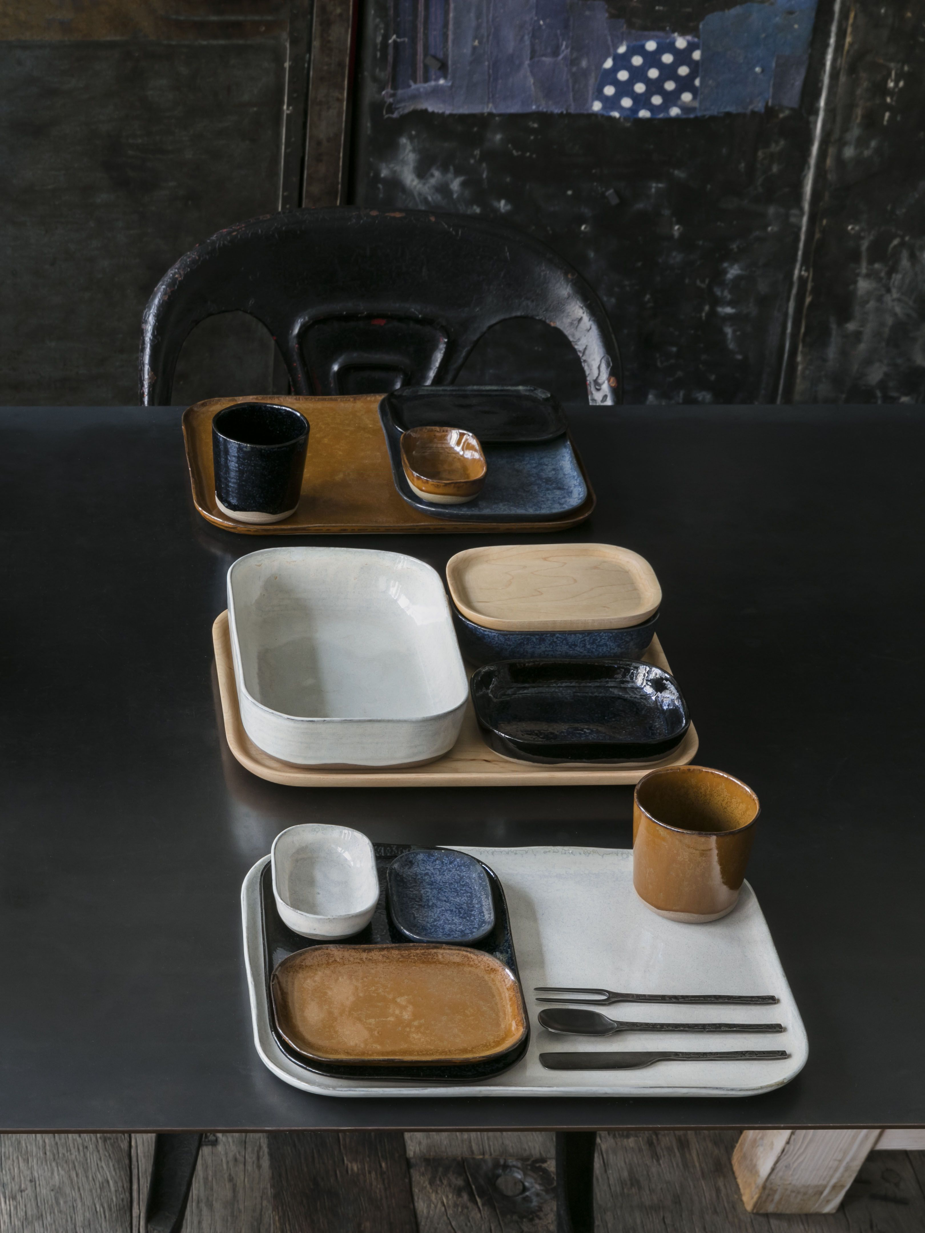 assiette creuse en gr s inspir e du c l bre service. Black Bedroom Furniture Sets. Home Design Ideas
