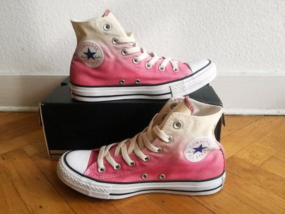 4d5b0ae1b67325 Dip dye ombre Converse all stars chucks one of a kind par Femchan