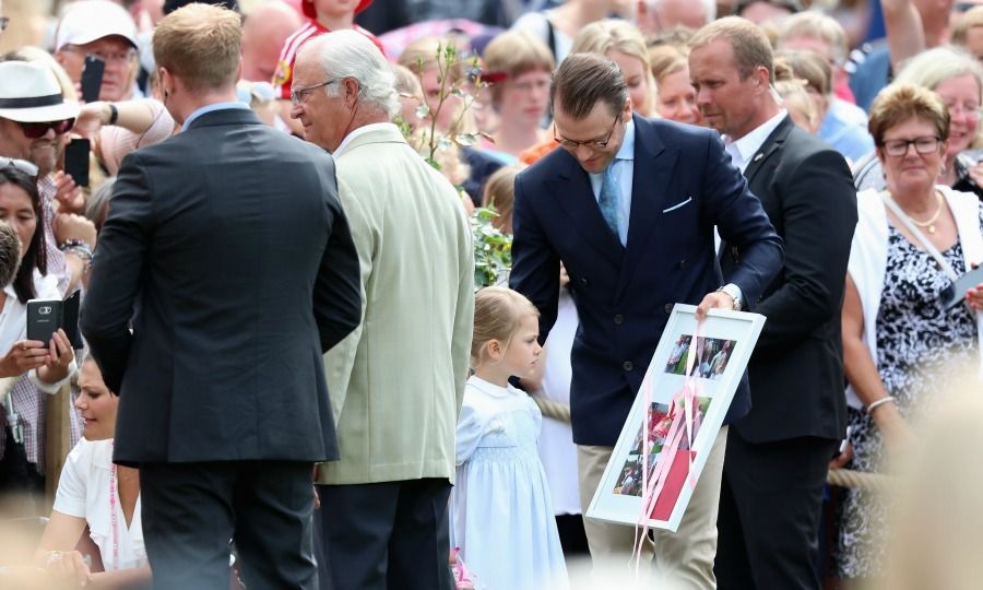 Princess Estelle brings Queen Elsa to Crown Princess Victoria's 39th birthday: All the highlights - HELLO! US