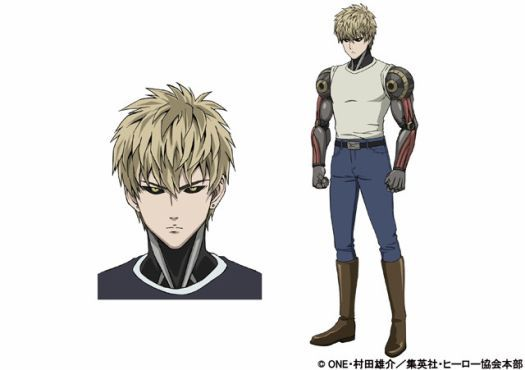 Official Pv Character Designs For One Punch Man Anime Surface Anime Herald One Punch Man Anime One Punch Man Manga One Punch Man