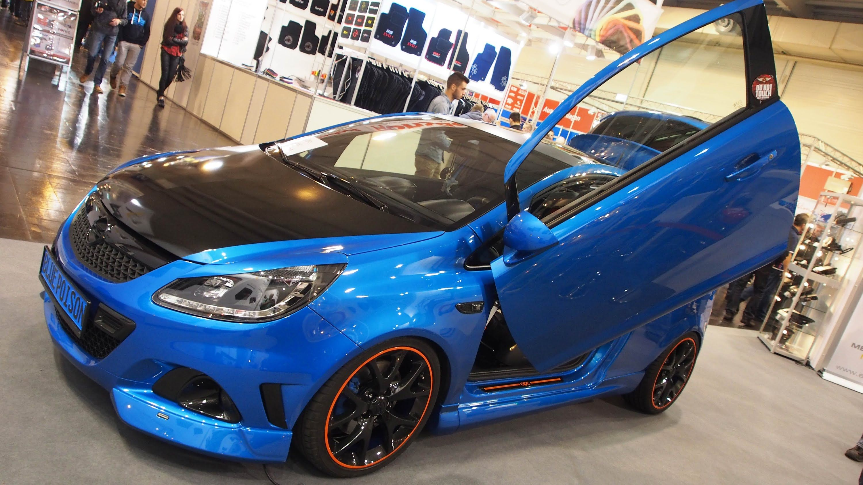 opel corsa d opc audio tuning at essen motorshow exterior walkaround essen motor show 2014. Black Bedroom Furniture Sets. Home Design Ideas