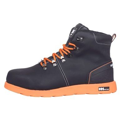 f7613815284 This Black & Orange stylish Helly Hansen Frogner WW Low Safety Boot looks  good either at work, or out on the town. The S3 is made from a PU coated  Nubuck ...