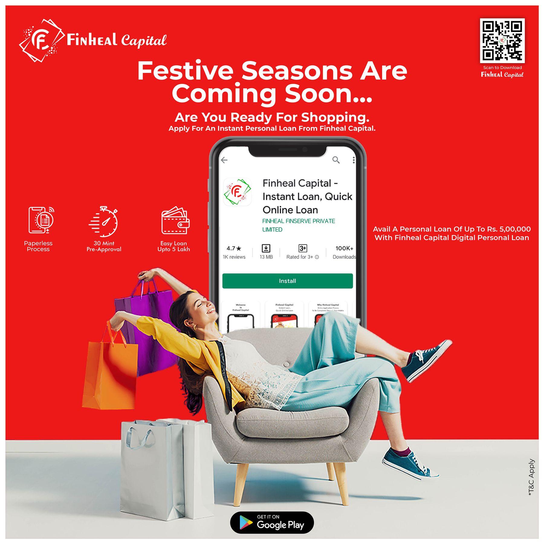 Festival Season Is Coming Soon Celebrate Your Festival With Finehal Capital Loan In 2020 Instant Loans Online Loans Personal Loans