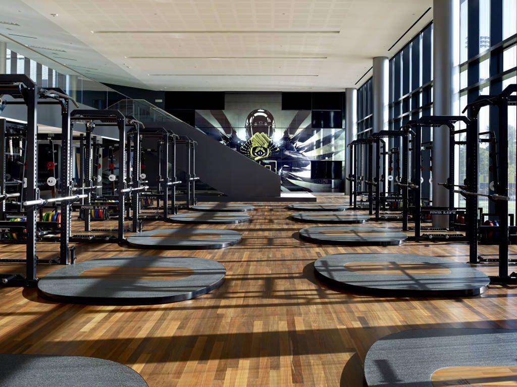 Weight Room Wood Flooring Google Search Interior Design - Weight room design