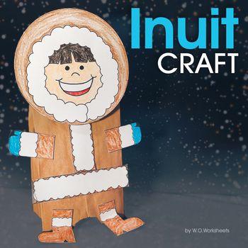 Inuit Craft - Eskimo Craft   Pinterest