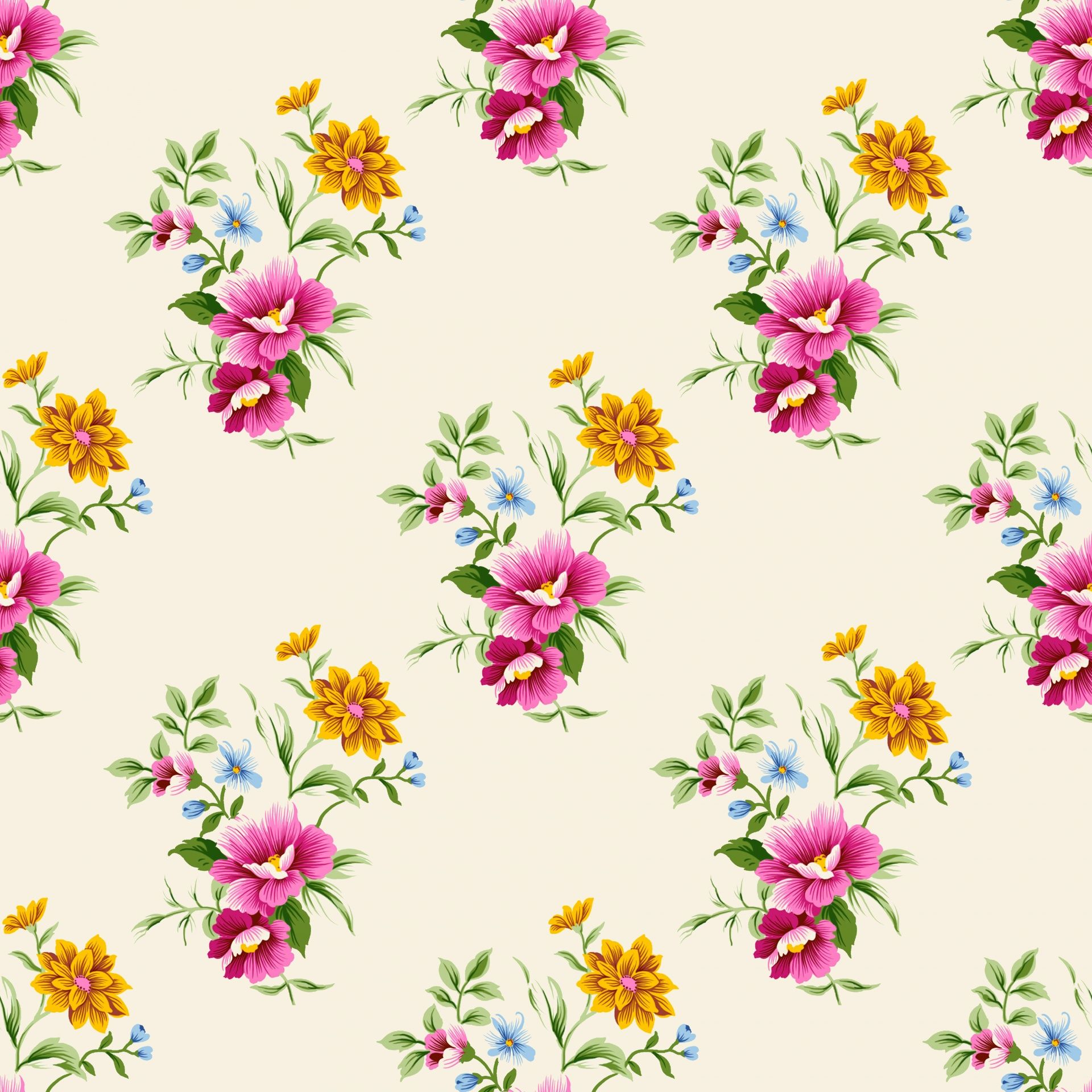 Flowers Vintage Floral Background Free Stock Photo Vintage