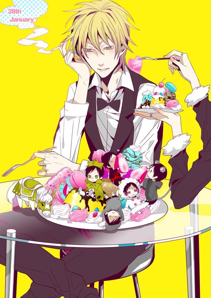 Spoiling my Shizuchan Durarara, Anime, Shizaya