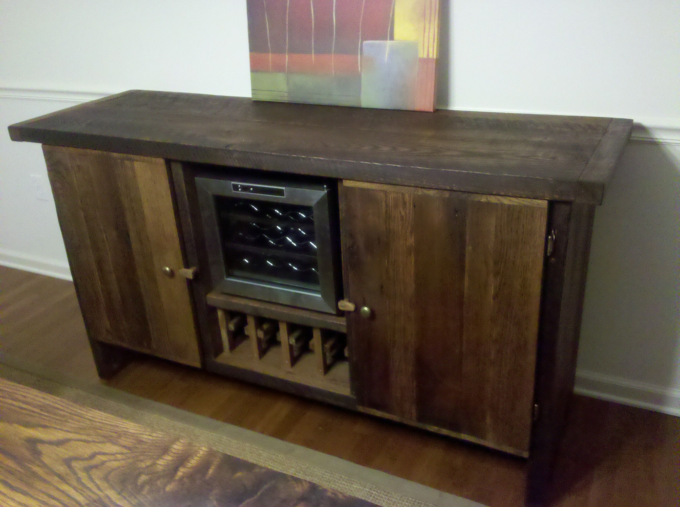 New Wine Fridge Buffet Cabinet