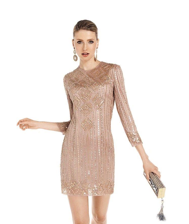 a63cec653 20 vestidos de fiesta cortos para invitadas a boda