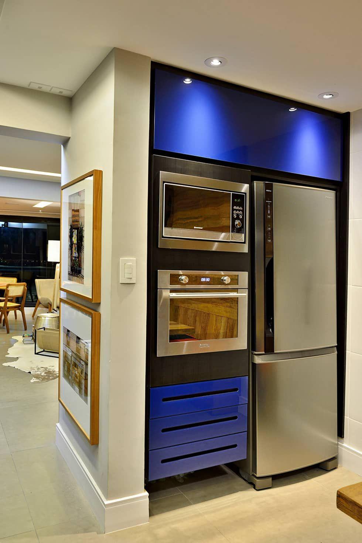 Cozinha Arrojada E Moderna Em Salvador Cozinhas Modernas Por