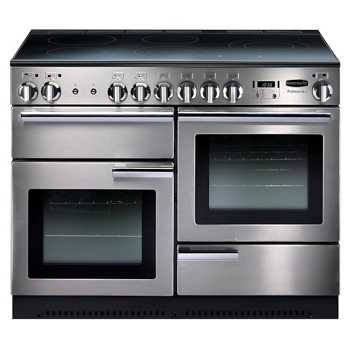Rangemaster Prop110eiss Professional Plus Electric Induction 110 Range Cooker Stainless Steel Range Cooker Induction Range Cooker Dual Fuel Range Cookers