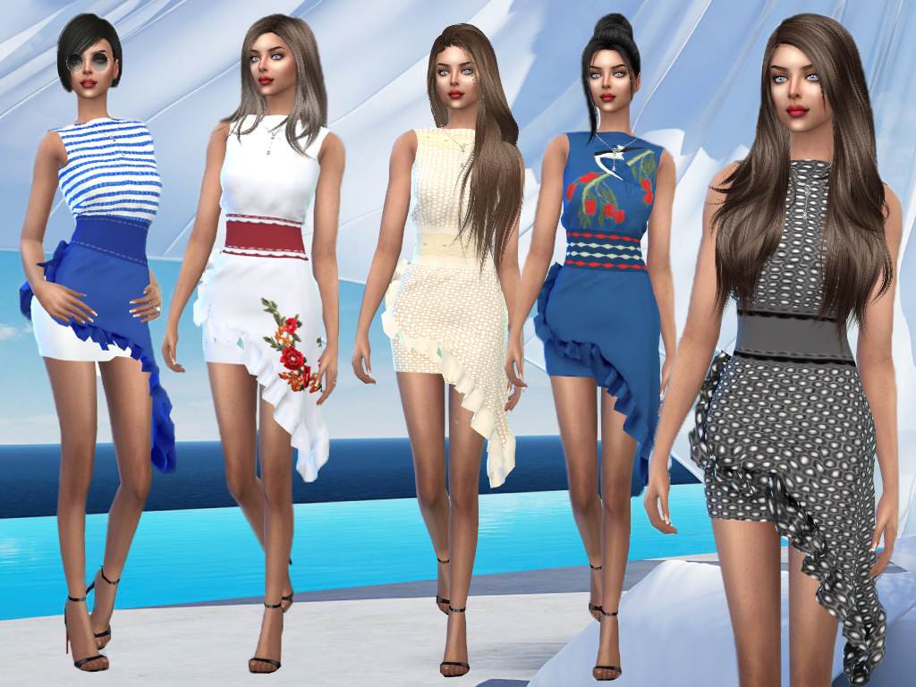 acb753bff15 Одежда для Симс 4 Clothes for Sims 4