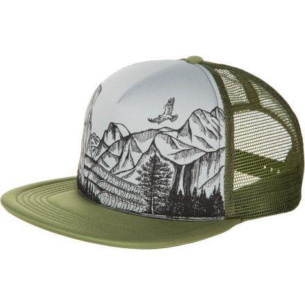 4cdfaca686e Hippy Tree Yosemite Trucker Hat
