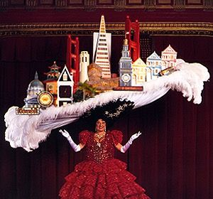 The Iconic Hat Beach Blanket Babylon At Club Fugazi San Francisco