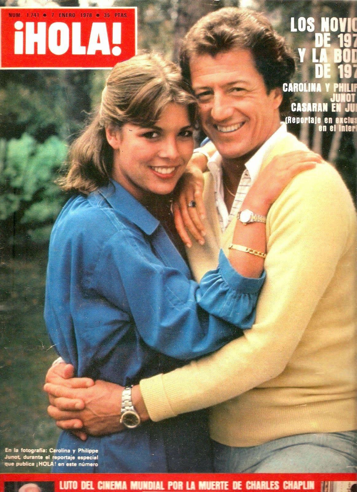 Princess Carolines First Husband: Princess Caroline Of Monaco And First Husband Philippe