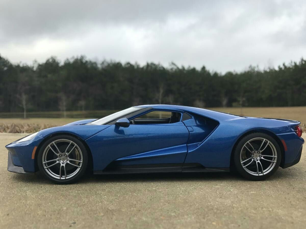 Ford Gt Liquid Blue Fordgtblue