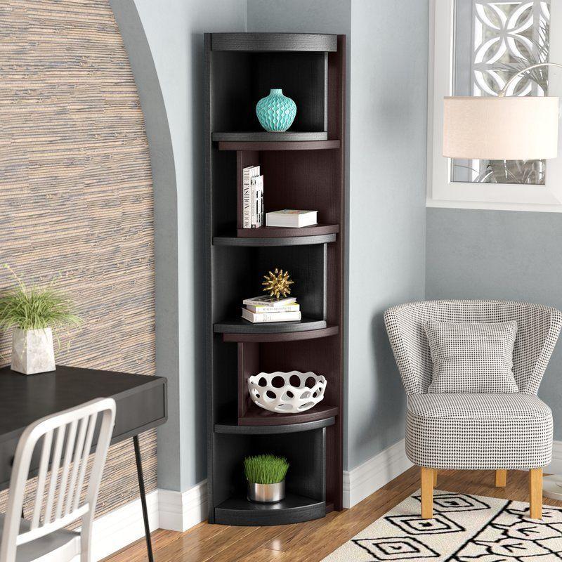 Bridges Corner Unit Bookcase Living Room Corner Decor Corner Furniture Dark Furniture Living Room