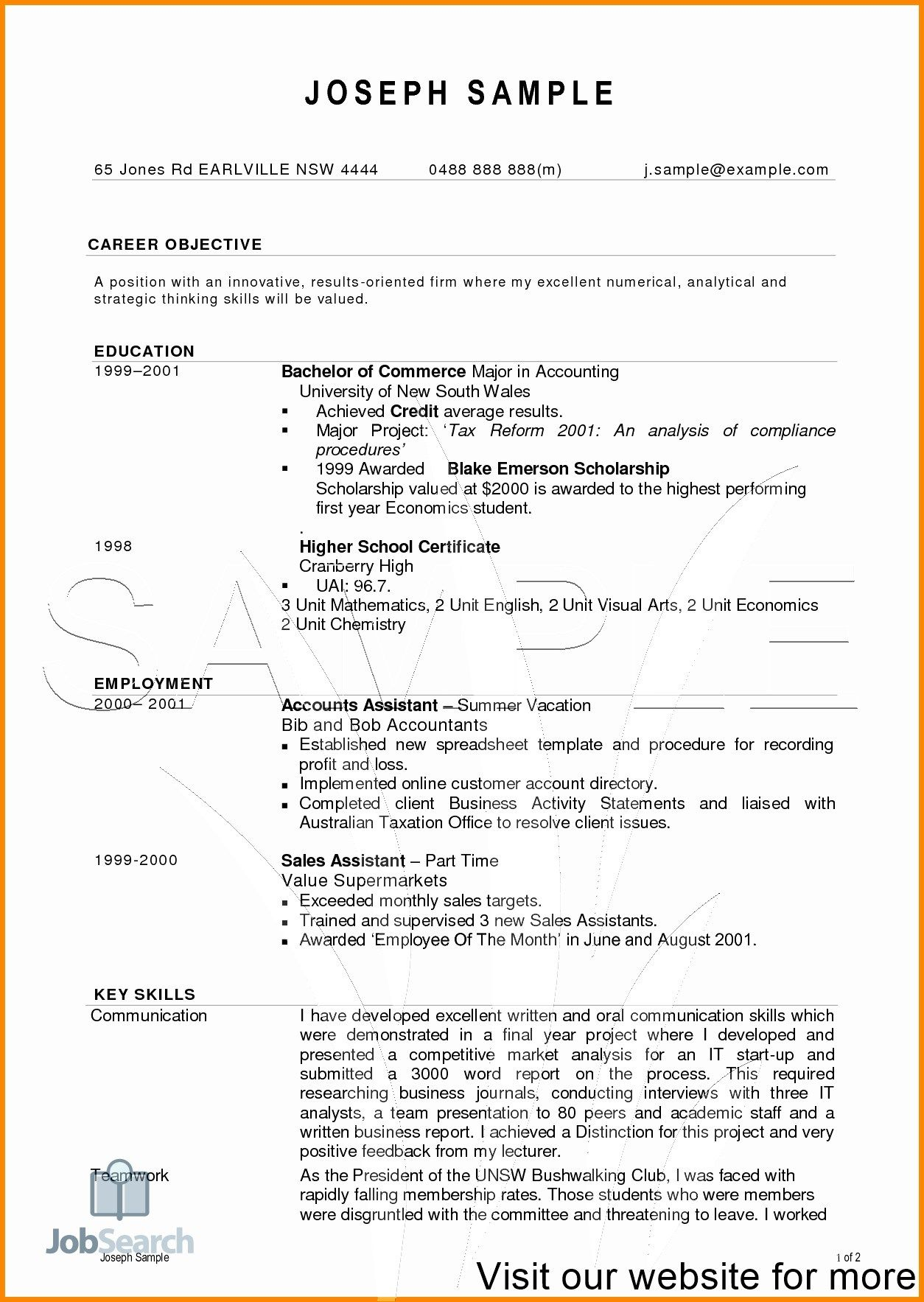 27 Cv Examples For Students Resume Format Free Download Resume Format For Freshers Resume Format
