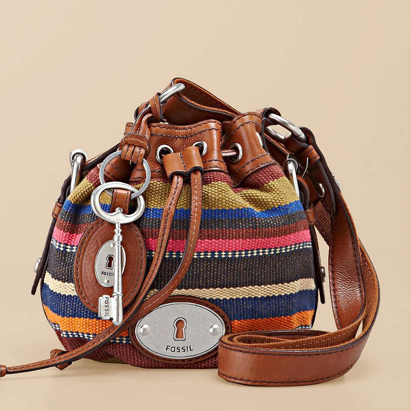 4766bb260430 FOSSIL® Handbag Collections Maddox Women Maddox Small Drawstring ZB4801  Carteras Y Bolsos