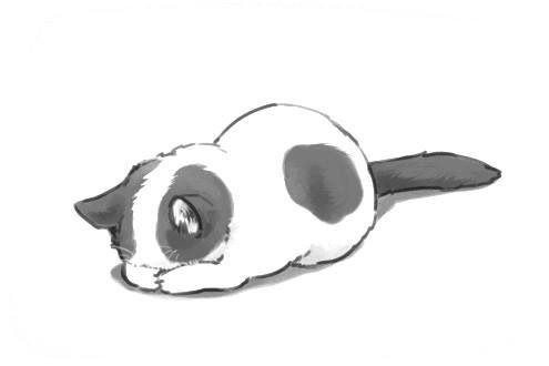 Cute Kitty Drawing Cats Illustration Cat Art Animal Drawings