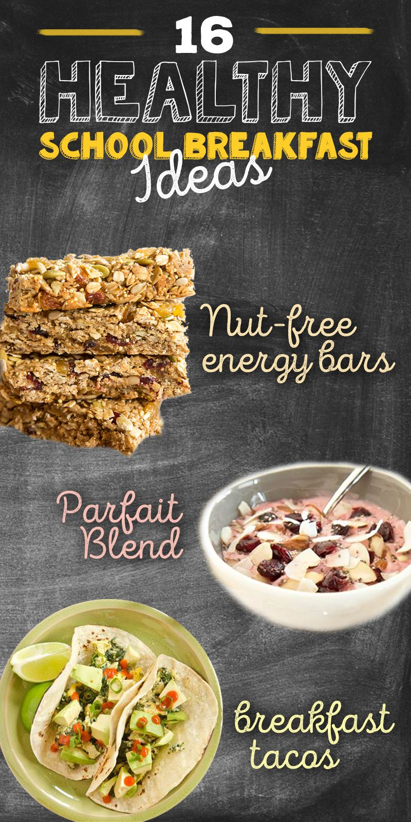 Start The School Day Off Right With These Healthy Breakfast Recipes