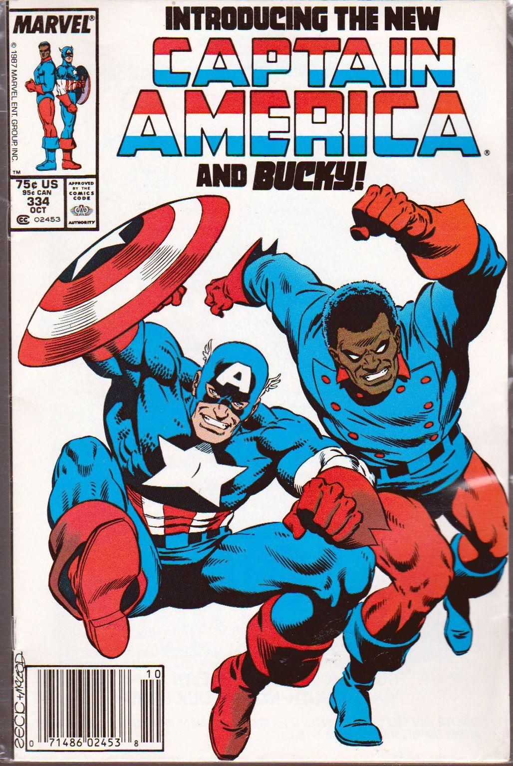 captain america comic book photos | ... Comics :: Captain America :: 1987 Captain America Comic Book #334