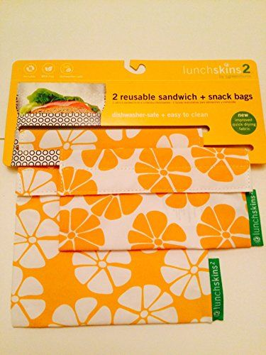 Lunchskins2 Reuseable Sandwich and Snack Bag- Aloha LunchSkins http://www.amazon.com/dp/B00NZOJZ8G/ref=cm_sw_r_pi_dp_ldPuub0SQ3N2R