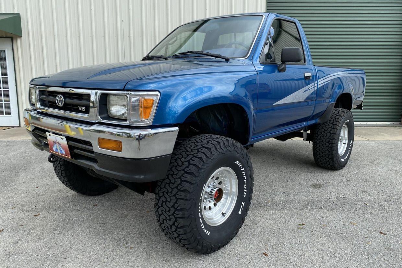 1993 Toyota 4x4 Pickup 5Speed in 2020 Toyota 4x4