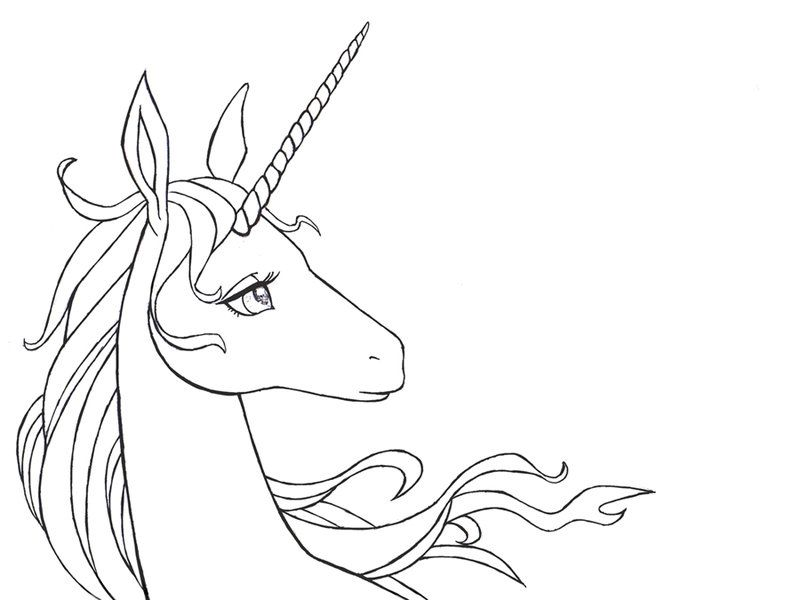 Unicorns In The Sea By Crystal Firefly On Deviantart Unicorn Drawing Unicorn Coloring Pages Line Drawing