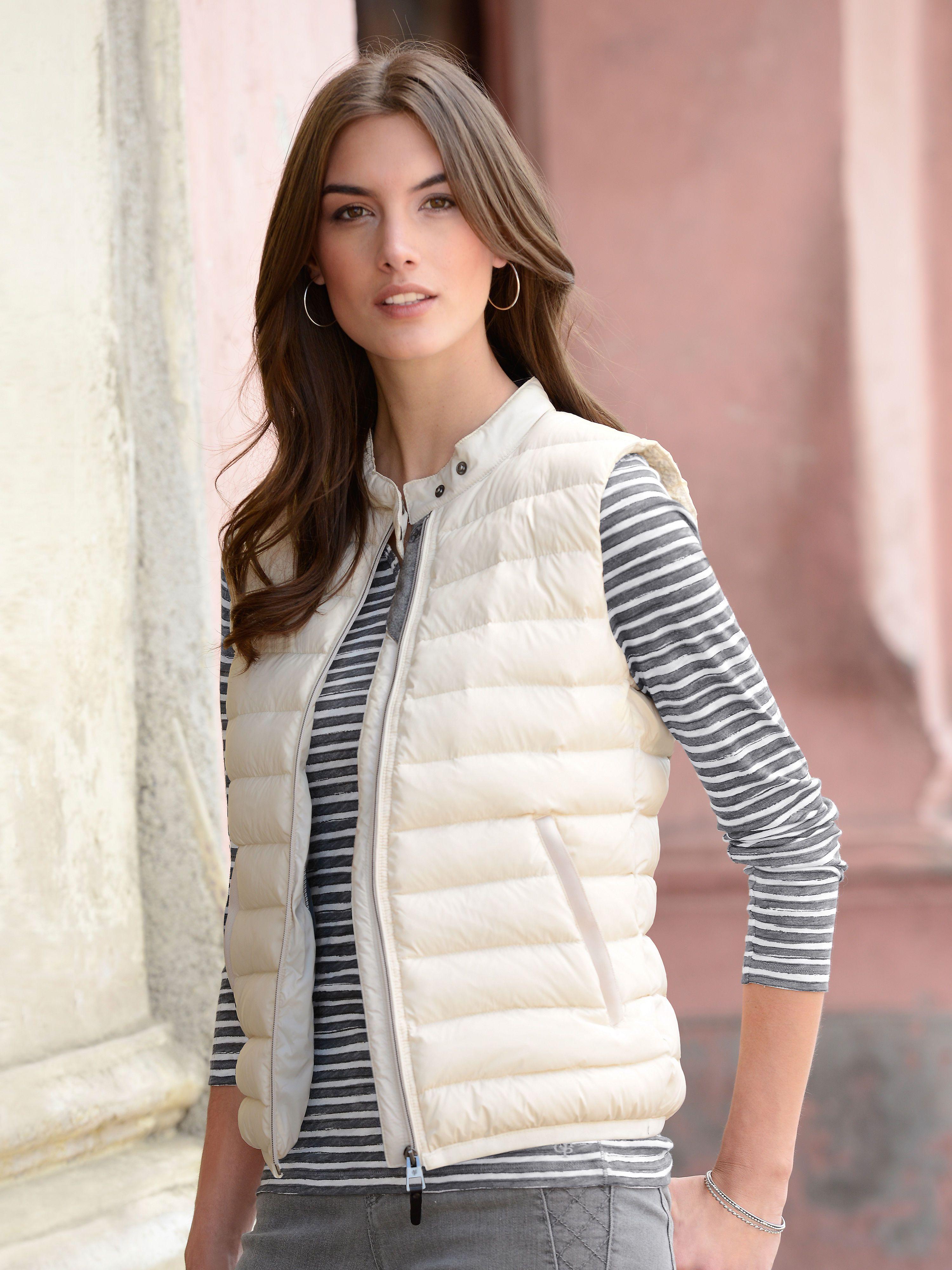 Marc O Polo Steppweste Beige Waistcoat Fashion 2016 Trends
