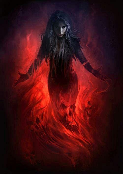 Art Dark Fantasy Witch