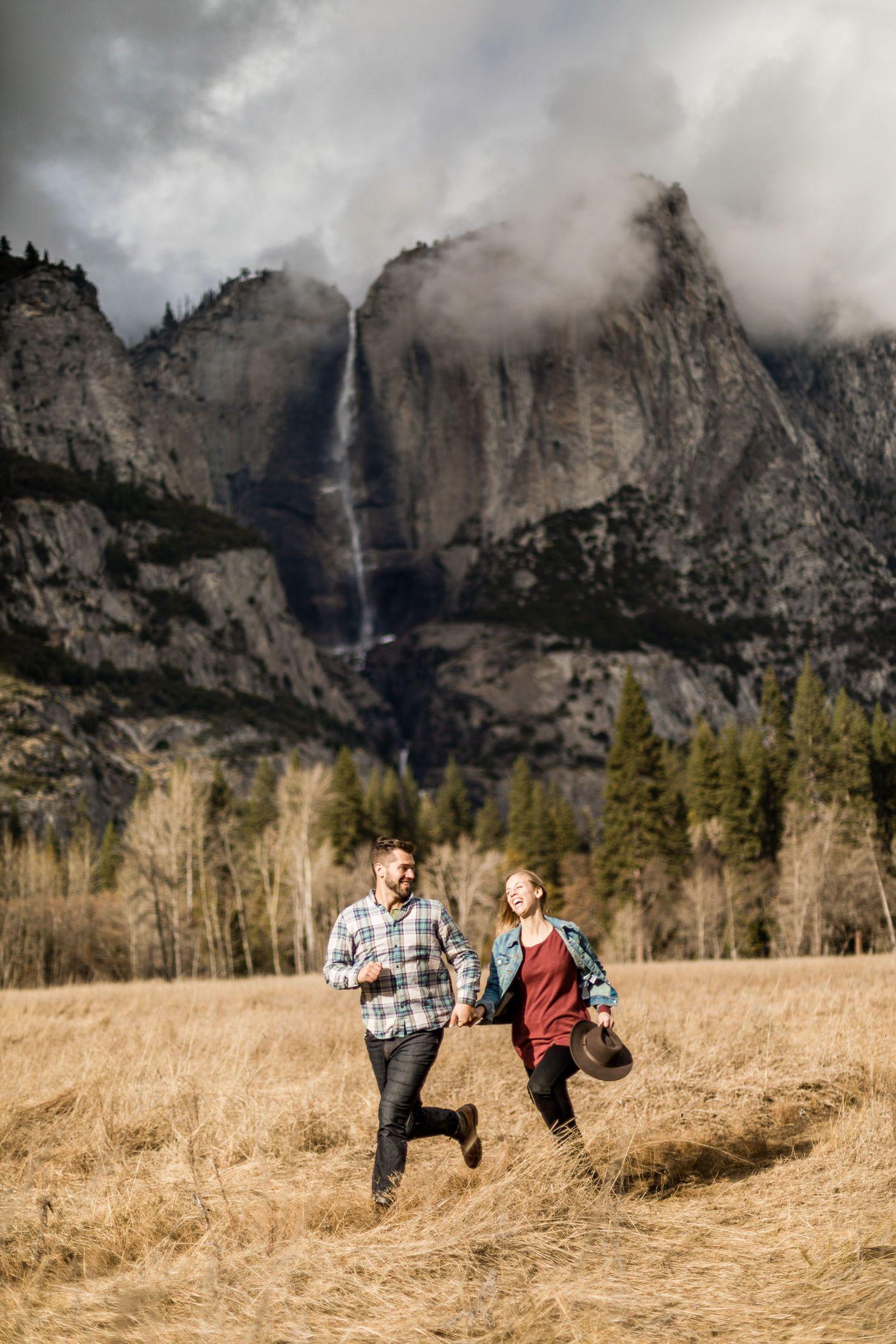 Yosemite Nationalpark California Adventure Session