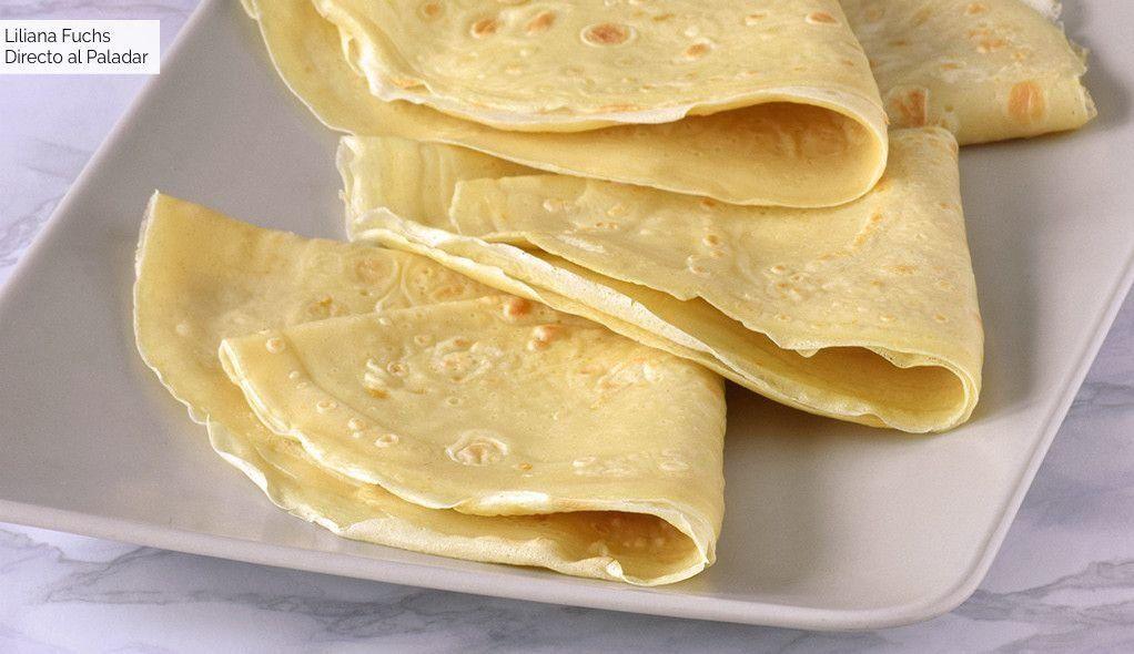 Cómo Hacer Masa De Crepes Receta Fácil Y Rápida 17 Ideas Dulces Y Salados 1002 Food Easy Meals Love Food