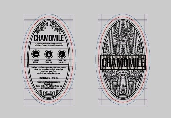 14 chamomile packaging design loose leafe tea design photo in Tea packaging project