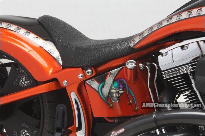 AMD World Championship, Mainhattan V2 Parts, bike details & gallery