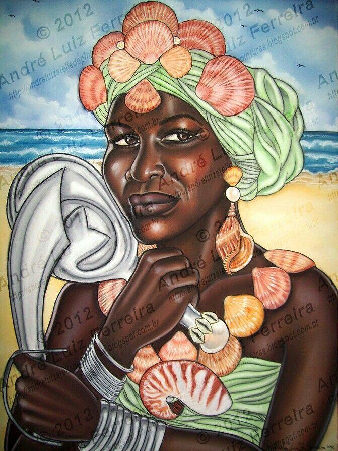 Iemanjá Ogunté by Andre luiz ferreira