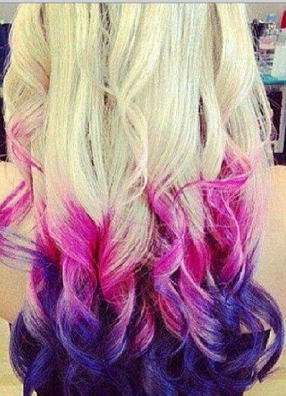 I Am Doing This Next Summer I Cant Wait I Will Be Doing It For Mlp Twilightsparkle Purple Ombre Hair Dip Dye Hair Hair Styles