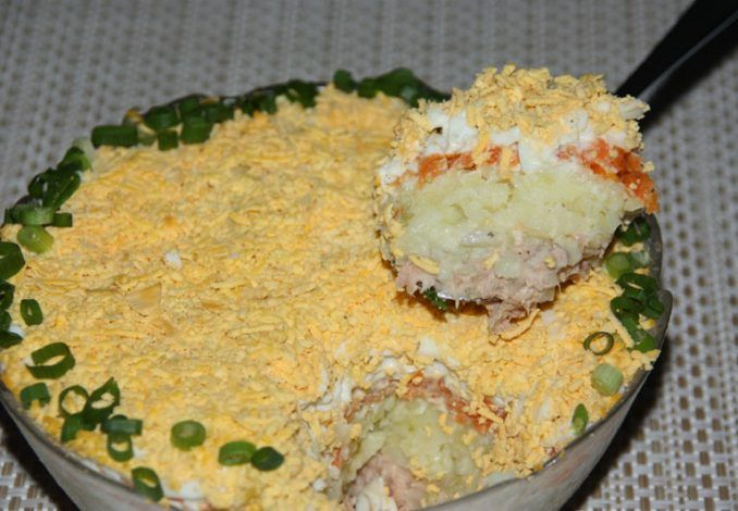 thunfischsalat_-russische_rezepte-schichtsalat_mit_thunfisch #olivierrussischersalat