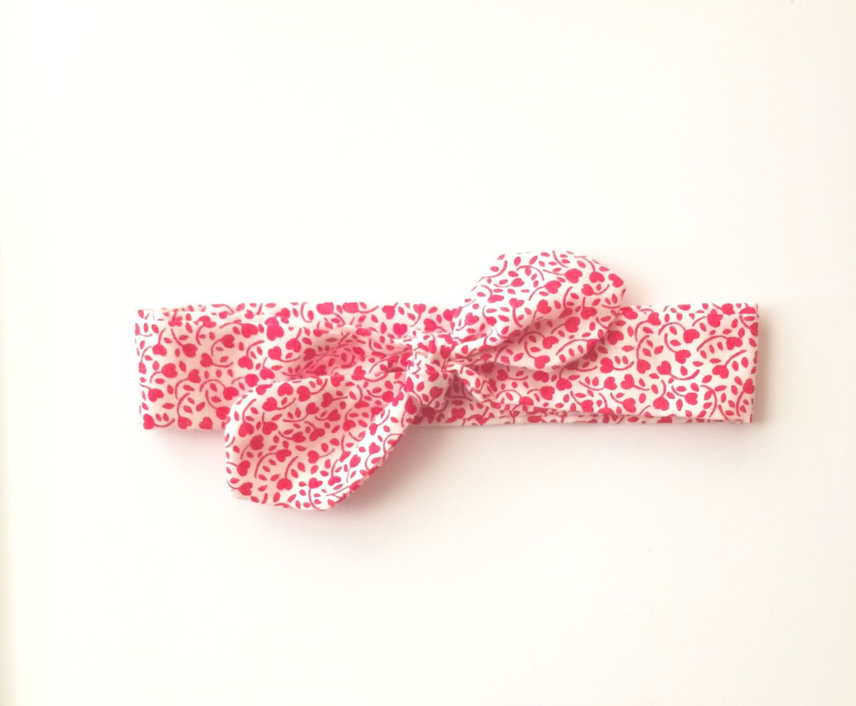 Baby Bow Tie Headband Bow Headband Wrap Headband Baby Headband