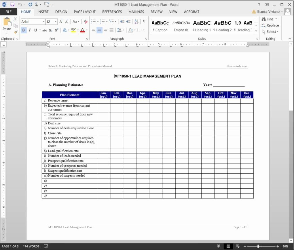Sales Manager Business Plan Template Luxury Lead Management Plan Template Business Plan Template Financial Management How To Plan Sales manager business plan template